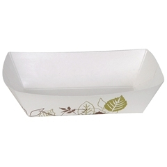 Polycoated Paper Food Tray - 6 Oz.