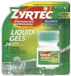 Zyrtec Liquid Gel - 10 mg.