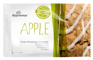 Apple Oatmeal Whole Grain Breakfast Bar - 2.4 Oz.