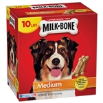 Dog Treats Milk Bone Biscuit Medium - 10 lb.