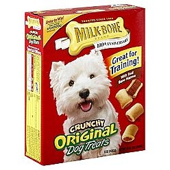 Milk Bone Dog Treats Original Crunchy - 10 oz.