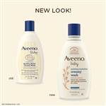 Aveeno Baby Wash Creamy Smoothing Relief - 12 fl.oz.