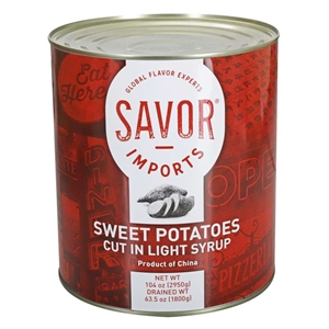 Canned Sweet Potato Cut In Light Syrup