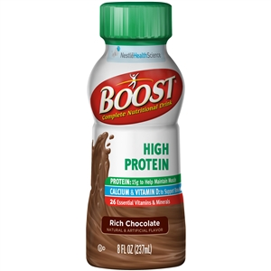 Nestle Boost High Protein Rtd Hipro Chocolate - 8 Oz.