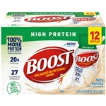 Nestle Boost High Protein Ready To Drink Hipro Vanilla - 8 Fl. Oz.