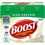 Nestle Boost High Protein Nutritional Beverage Vanilla - 8 fl.oz.