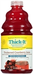 Thickened Cranberry Juice Nectar Consistency - 64 Fl. Oz.