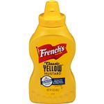 Mustard Yellow Squeeze Bottle Frenchs - 8 Oz.