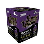 5-Hour Energy Extra Strength Grape - 7.72 Oz.