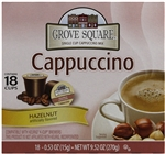 Single Serve Hazelnut Cappuccino Mix Grove Square