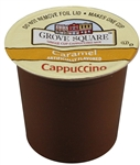Single Serve Caramel Cappuccino Mix Grove Square