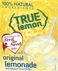 Beverage Mix True Lemon Bulk - 0.04 Oz.