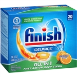 Finish Gelpacs All In 1 Orange Scent