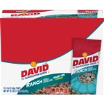 David Sunflower Seeds In Shell Ranch Unpriced Tubes - 1.625 oz.