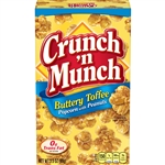 Crunch N Munch Buttery Toffee Popcorn With Peanuts - 3.5 Oz.