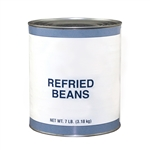 Beans Refried With Lard Can - 10 Lb.
