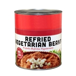 Beans Refried Vegetarian Can - 10 Lb.