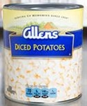 Potatoes Diced Can - 10 Lb.
