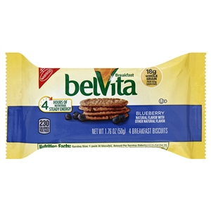 Belvita Snack Bars Blueberry - 1.76 Oz.