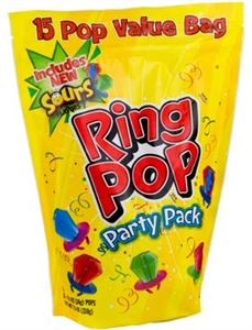 Ring Pop Gusseted Bag - 7.5 Oz.