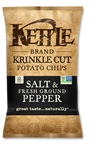 Kettle Krinkle Cut Potato Chip Salt and Pepper - 1.5 Oz.