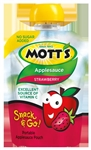 Motts Applesauce Strawberry Pouch - 3.2 Oz.