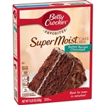 Betty Crocker SuperMoist Cake Mix Butter Recipe Chocolate - 15.25 oz.