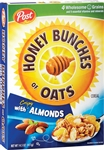 Post Honey Bunches Of Oats Almond Cereal - 18 Oz.