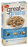 Post Cereal Great Grains Blueberry Morning - 13.5 Oz.
