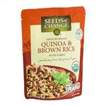 Seeds Of Change Quinoa and Brown Rice With Garlic - 8.5 Oz.