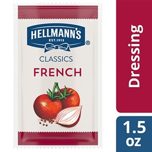 Hellmanns Dressings and Condiments Creamy French Style Pouches - 1.5 Oz.