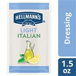 Hellmanns Spreads and Dressing Light Italian Pouches - 1.5 fl. Oz.
