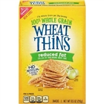 Wheat Thin Cracker Reduced Fat - 8.5 Oz.