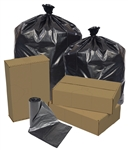 Star Perforated Black Trash Bags Roll - 33 in. x 39 in.