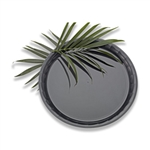 Conserve Round Tray Black - 16 in.
