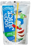 Capri Sun Beverage 100 Percent Apple Juice - 6 oz. - 40 per case
