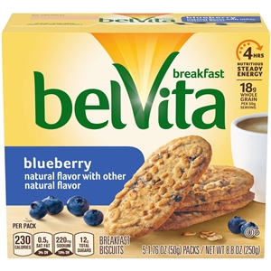 Nabisco Belvita Breakfast Snack Blue Berry - 1.76 Oz.
