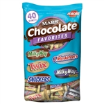 Miniature Variety Pouch Candy Bar - 40 Oz.