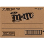 MandMs Candy Milk Chocolate Bulk Fun Size - 20 lb.