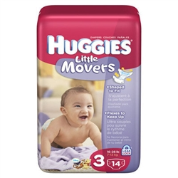 Huggies Supreme Little Movers Diaper Step 3