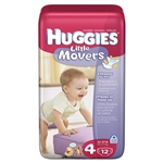 Huggies Supreme Little Movers Diaper Step 4