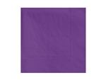 Dinner Napkin Purple 2 Ply - 15 in. x 17 in.
