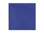 Beverage Navy Napkin 2 Ply - 9.5 in. x 9.5 in.