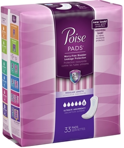 Poise Maxi Pads Ultimate Coverage