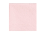 Beverage Napkin Pink 2 Ply - 9.5 in. x 9.5 in.