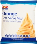 Dole Orange Soft Serve Mix - 4.4 Lb.