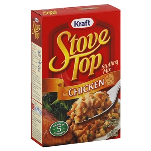 Kraft Stove Top Stuffing Chicken Mix - 6 oz. - 12 per case