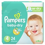 Pampers Baby Dry Diapers Conversion Pack Size 4