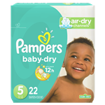 Pampers Baby Dry Diapers Conversion Pack Size 5