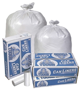 White Star Extra Heavy Can Liner - 33 Gal.
